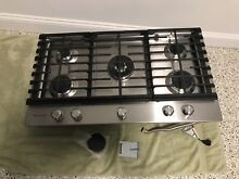 36 In kitchen aid gas cooktop