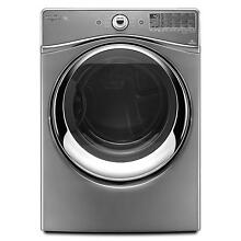 Whirlpool WED96HEAC 27  Chrome Shadow Front Load Electric Dryer NIB  9299