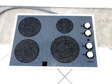 SEARS KENMORE 911 426459 30 IN ELECTRIC CERAMIC COOKTOP BLACK GREY WHITE   NICE