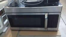 Frigidaire 1 6 cubic ft  stainless steel  over the range 30  microwave