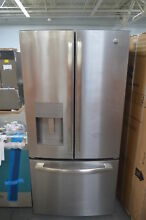 GE GFE24JSKSS 33  Stainless French Door Refrigerator NOB  26285 CLW