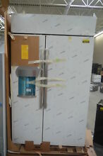 GE PSB48YSKSS 48  Stainless Built In Side by Side Refrigerator NOB  26279 HL