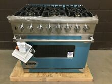 VIKING VDSC5366BSSLP 36  Professional Dual Fuel Range 6 Burner Stainless Steel