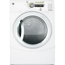 GE GFDN240ELWW 27  White Front Load Electric Dryer NIB  9587 CLW