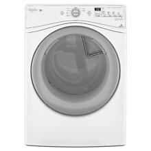 Whirlpool Duet WED80HEBW 27  Electric Dryer White Front Load 7 4 cu  ft  NIB NEW