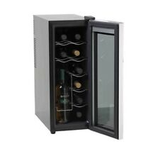 Wine Refrigerator Quiet Drink Bottle Thermoelectric Counter top Wine Cooler Home