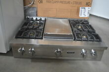 Viking VGRT5364GSS 36  Stainless Pro Style Gas Rangetop  26739 HL