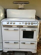 1940 s O keefe   Merritt Antique White Enamel Gas Range