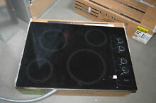 Whirlpool W5CE3024XB 30  Black Smoothtop Electric Cooktop NOB  26750 HL