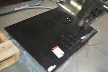 Whirlpool G9CE3065XB 30  Black Smoothtop Electric Cooktop NOB  26753 HL