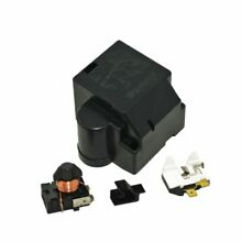 Whirlpool  WP4387938 Refrigerator Compressor Overload and Start Relay for