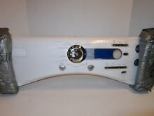 New GE Dryer WE20M462 Control Panel Front Assembly WW Steam