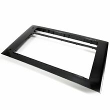 Frigidaire 5304471826 Microwave Door Outer Frame  Black