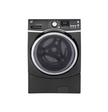 GE GFW450SPKDG 27  Diamond Gray Front Load Washer NOB  27707 HL