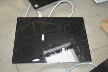 Whirlpool G9CE3065XB 30  Black Smoothtop Electric Cooktop NOB  27416 HL