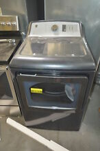 GE GTD75ECPLDG 27  Diamond Gray Front Load Electric Dryer NOB  27653 CLW
