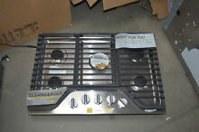 Whirlpool WCG97US0DS 30  Stainless 5 Burner Gas Cooktop NOB  27698 HL