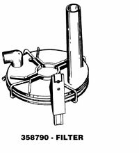 Kenmore 358790 Washer Drain Pump Filter