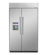 Thermador T48BD810NS 48  Stainless Side by Side Refrigerator NOB  27744 HL