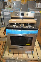 Frigidaire FPGF3077QF 30  Stainless Pro Freestanding Gas Range NOB  27767 CLW
