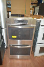 GE JK3500SFSS 27  Stainless Double Electric Wall Oven NOB  27821 HL