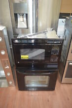 GE JKP90DPBB 27  Black Combination Wall Oven NOB  27820 HL
