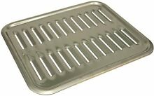 PORCELAIN ENAMELED STEEL BROILER PAN  12 3 4X15 1 4X1 1 2
