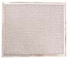OVER THE RANGE MICROWAVE VENT FILTER 7 13 16 IN  X 9 IN  X 3 32 IN FITS GE HOTP