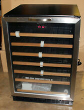 Danby Designer Series 24  Built in 50 Bottle Wine Cooler DWC508BLS  WITH BONUS
