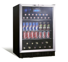 Danby 5 3 Cu  Ft  Silhouette Beverage Center  DBC514BLS