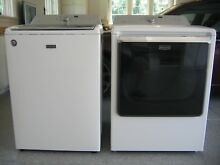 Maytag Washer and Dryer set  white Model Bravos XL MCT