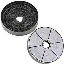 LAMONA LAM2100 Genuine Oven Cooker Hood Charcoal Carbon Filter Vent   Pack of 2