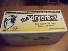 DryerBox DB425  Recessed Dryer Vent Box for 2x6 Wall   Box of 4   NEW
