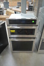 Jenn Air JMW2427DS 27  Stainless Double Combo Wall Oven NOB  28066 HL