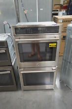 GE CK7500SHSS 27  Stainless Double Electric Wall Oven NOB  28072 HL