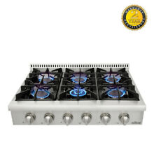 For self pick up Thor Kitchen 36  stainless steel 6 burner range top HRT3618U