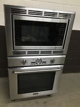 Thermador 30  Pro Series Stainless Combination Wall Oven Microwave PODM301