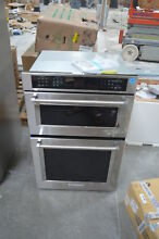 KitchenAid KOCE507ESS 27  Stainless Microwave Electric Combo Wall Oven  28221 HL