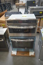 GE JK3800SHSS 27  Stainless Combination Wall Oven NOB  28230 HL