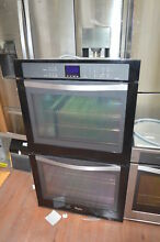 Whirlpool WOD93EC0AE 30  Black Double Electric Wall Oven NOB  28245 HL
