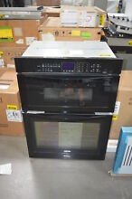 Whirlpool WOC95EC0AB 30  Black Microwave Combo Wall Oven NOB  28253 HL