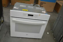 GE JT3000DF3WW 30  White Single Electric Wall Oven NOB  28299 HL