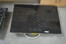 Whirlpool G9CE3065XB 30  Black Smoothtop Electric Cooktop NOB  28333 HL
