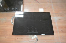 Whirlpool G9CE3065XB 30  Black Smoothtop Electric Cooktop NOB  28448 HL