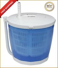 Washing Machine and Spin Dryer Portable Hand Cranked Manual Clothes Non Electric
