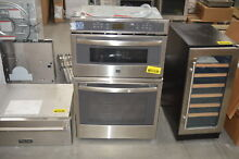 GE PK7800SKSS 27  Stainless Microwave Combo Wall Oven NOB  28507 HL