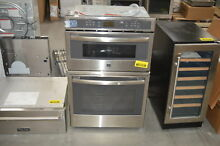 GE PK7800SKSS 27  Stainless Microwave Combo Wall Oven  28507 HL
