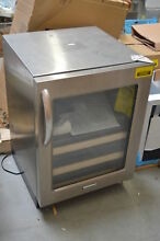 KitchenAid KBCS24RSSS 24  Stainless Under Counter Refrigerator NOB  28692 HL