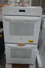 GE Profile PK7500DFWW 27  White Double Electric Wall Oven NOB  28694 HL