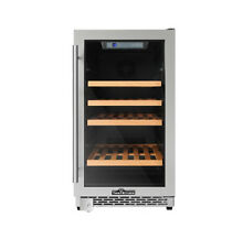 Thor Kitchen Dual Zone Built in Wine Cooler Refrigerator HWC2405U 46 Bottles